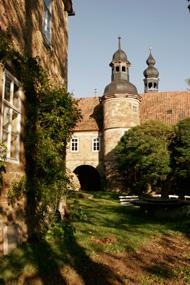 Die Türme von Schloss und Kirche